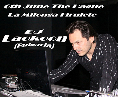 Ivaylo Alexandroff a.k.a. DJ Laokoon @ La Milonga Firulete - The Hague, Netherlands