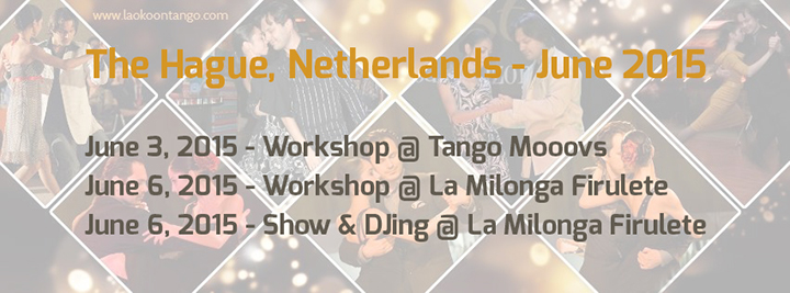 LAOKOONTANGO in Netherlands!